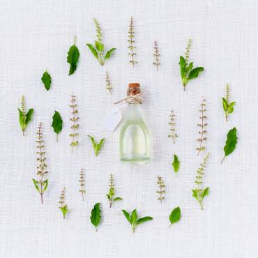 Het effect van etherische oliën bij een massage